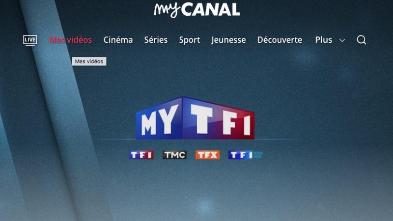 MyCanal :  le service de replay MYTF1 est désormais disponible