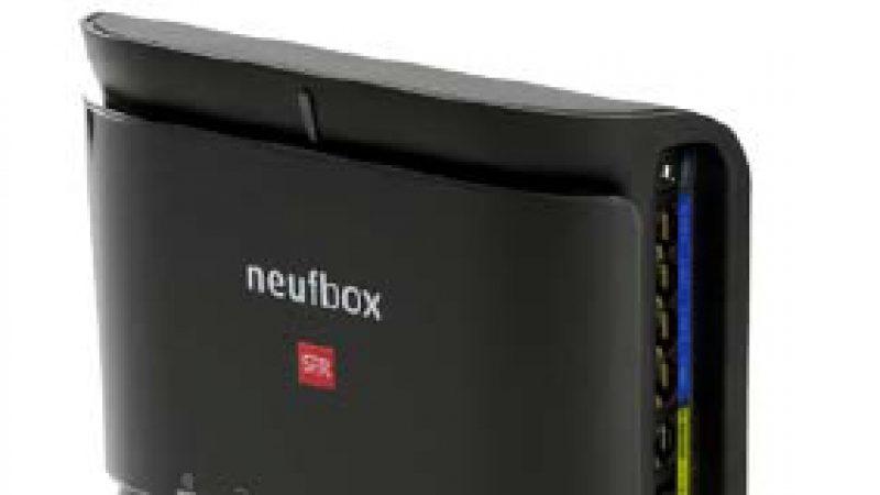 SFR présente sa nouvelle NeufBox optique