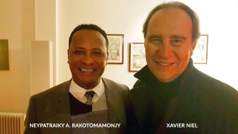 Xavier Niel en visite à Madagascar pour préparer de futurs investissements