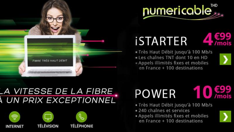 Numericable-SFR prolonge ses offres promotionnelles sur Showroomprivé