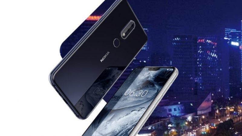 Nokia X6 : le premier smartphone de la marque doté d'une encoche