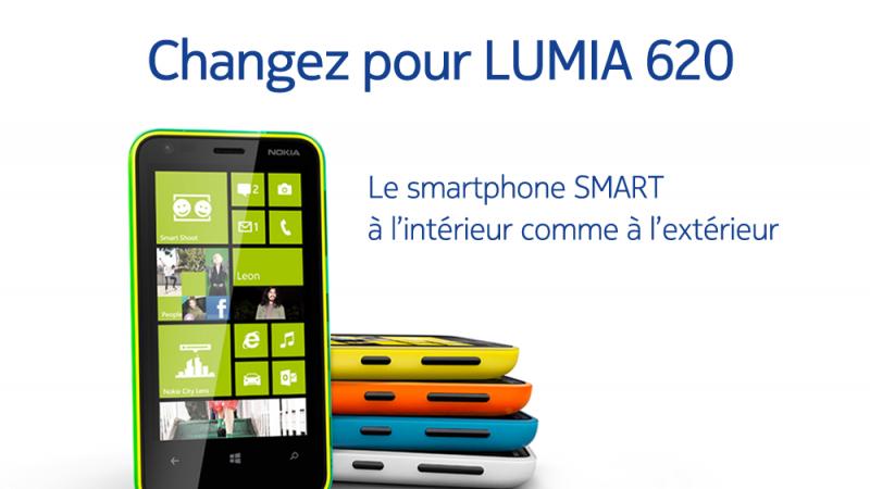 Free Mobile : Le Lumia 620 de nouveau disponible et annonce de l'EAPSIM pour juin