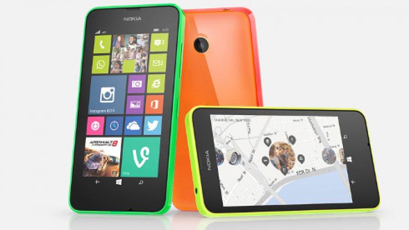 Le Nokia Lumia 635 est de retour dans la boutique Free Mobile