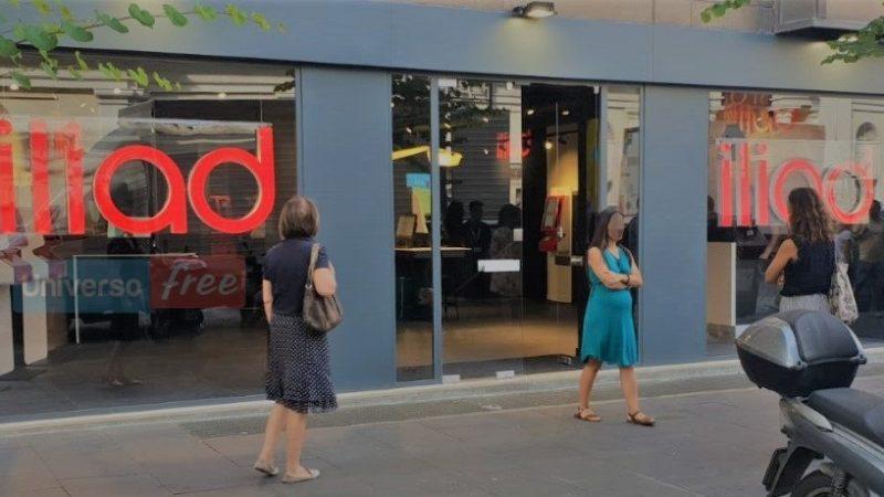 En images : Iliad inaugure à Rome une nouvelle boutique sur deux étages aux airs de Free Center