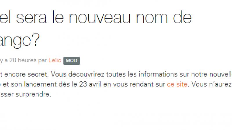 Orange Suisse, racheté par Xavier Niel, changera de nom le 23 avril prochain