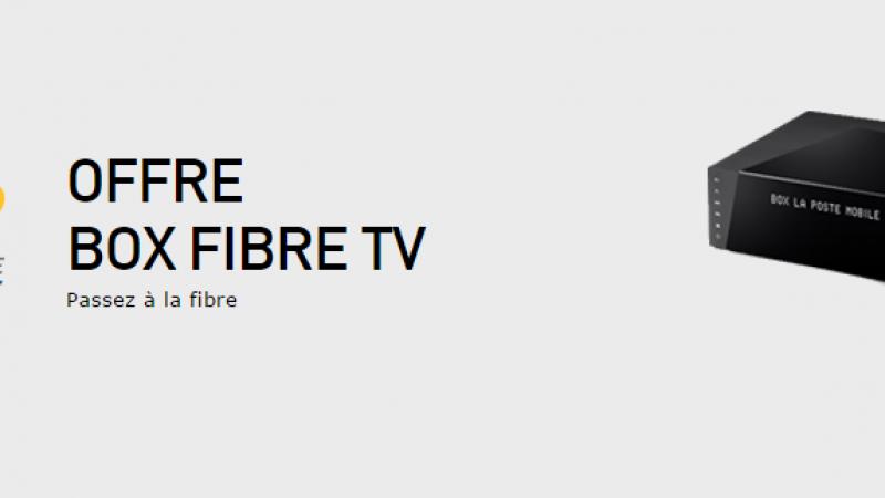 La Poste Mobile lance son offre box fibre TV