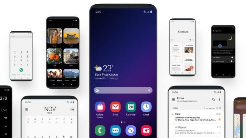 One UI : la nouvelle interface de Samsung débarquera sur les Galaxy S8 et Note 8