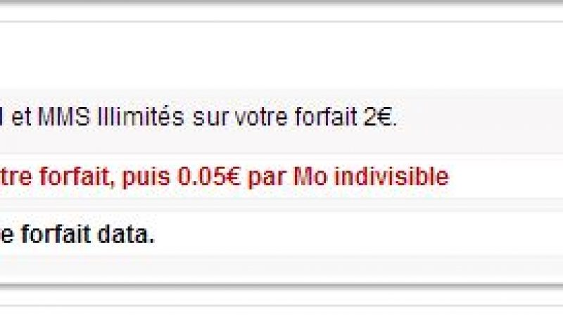 comment bloquer son forfait free 2 euros