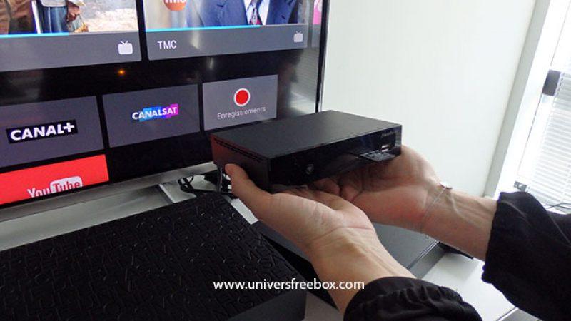 Le boitier TV de la Freebox Player mini 4K disponible à 1,99 €/mois pour les Freebox Révolution