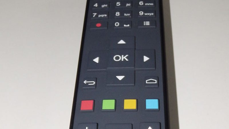 Découvrez la télécommande de la Freebox mini 4K en détails