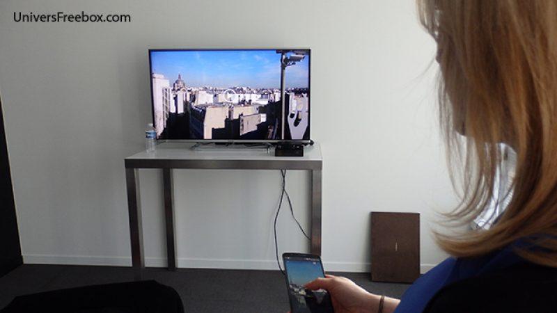 Google Cast (Chromecast) intégré à la Freebox mini 4K