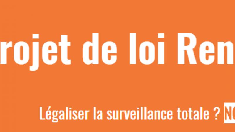 Un appel à manifester contre la surveillance généralisée
