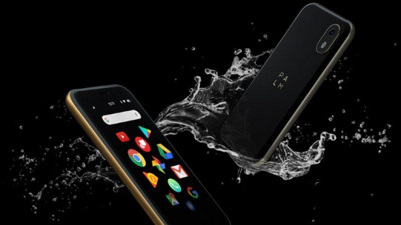 La marque Palm signe son grand retour avec un mini-téléphone original