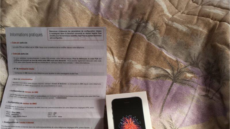 Free Mobile : Les premiers iPhone SE ont été livrés ce matin