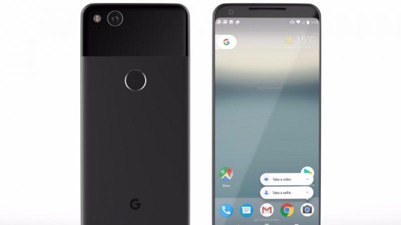 Google annonce le nouveau Pixel 2 pour le 4 octobre