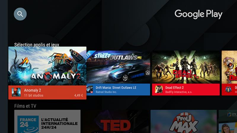 Une nouvelle version du Play Store arrive sur Freebox Mini 4K