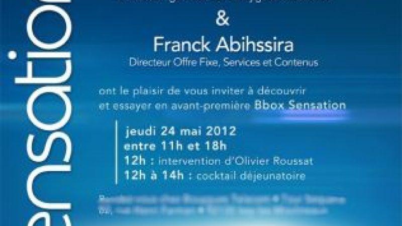[MàJ] Bouygues Télécom présentera la Bbox Sensation en fonctionnement
