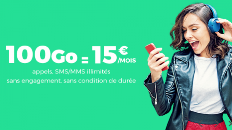 French Days : RED by SFR brade son forfait 100 Go sur Showroom Privé