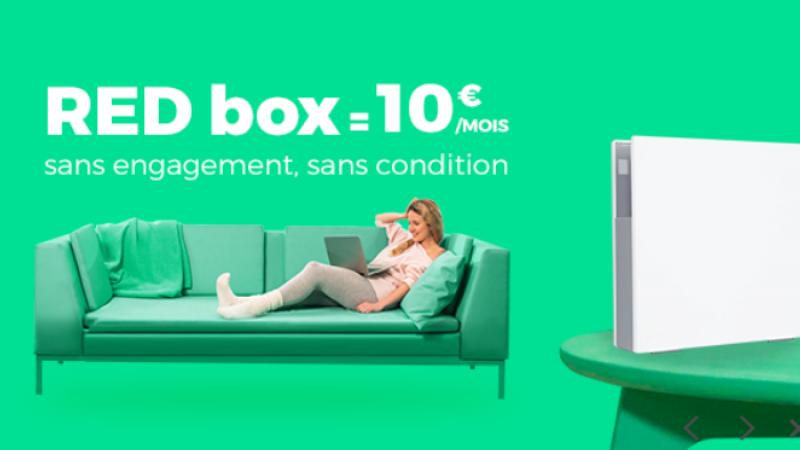 RED by SFR lance une offre Très Haut Débit à 10€/mois à vie sur Showroom Privé