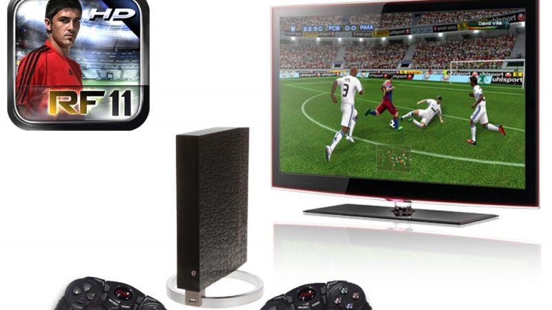 Mise à jour Real Football 2011 HD : Mode multijoueur disponible