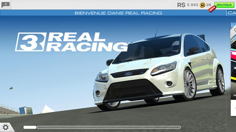 Enfin un jeu réussi graphiquement sur Freebox mini 4K, avec l'arrivée de Real Racing 3 d'Electronic Arts