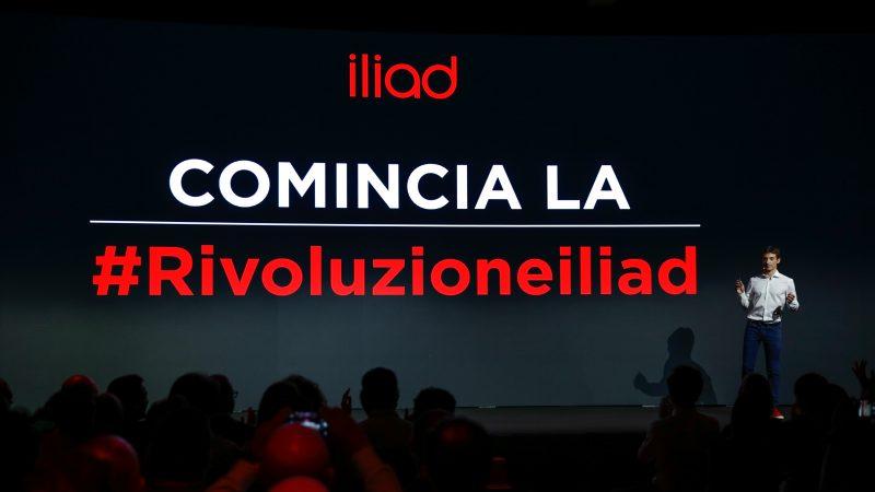 Des débuts prometteurs pour Iliad en Italie