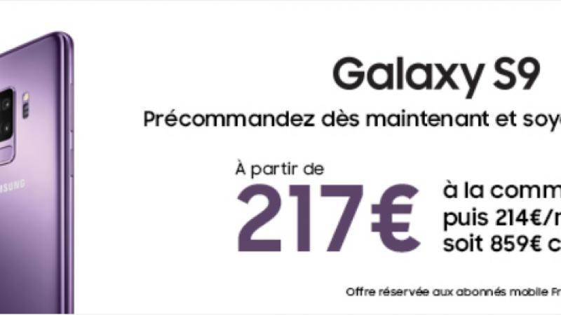 Free Mobile : les Samsung Galaxy S9 et S9+ débarquent en précommande dans la boutique en ligne