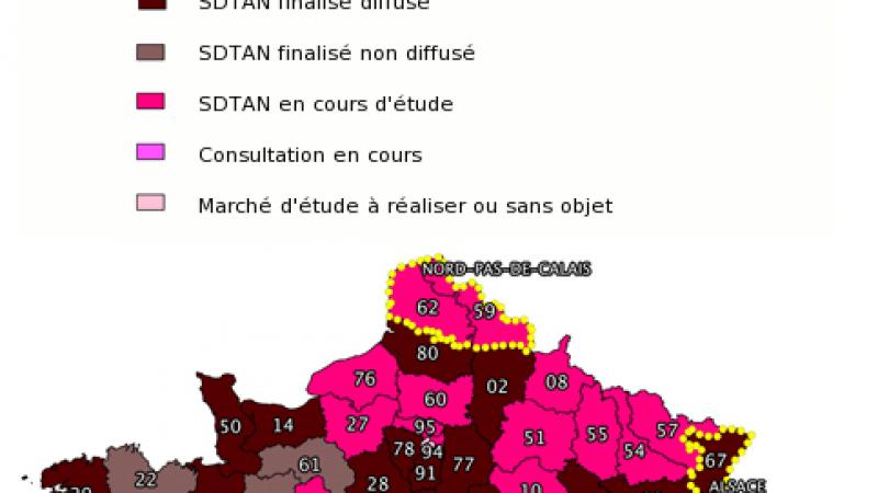 Les plans de déploiement Très Haut Débit des départements dévoilés.