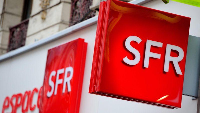 SFR écope d'une amende de 100 000 euros et se doit de l'afficher sur son site internet