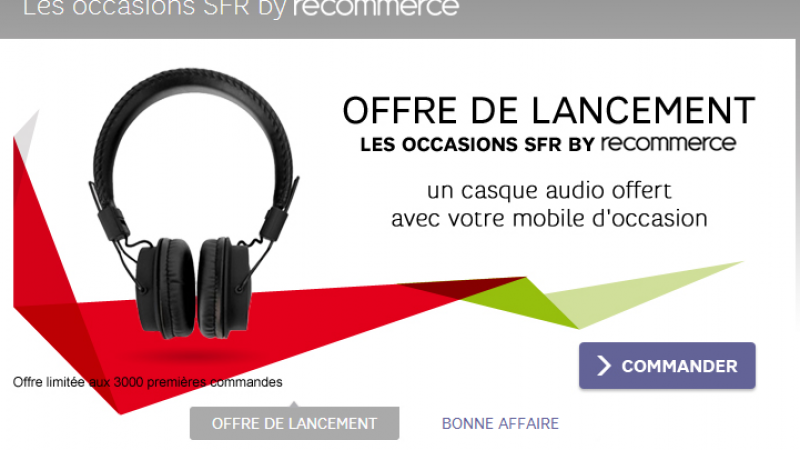 SFR se lance dans les téléphones d'occasion