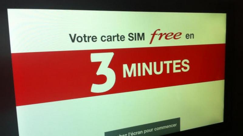 Bornes automatiques Free Mobile :  nouveau système d'activation des cartes SIM