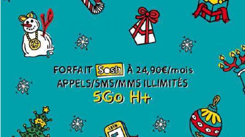 Sosh annonce 5 Go de fair-use mais toujours pas de 4G à l'horizon