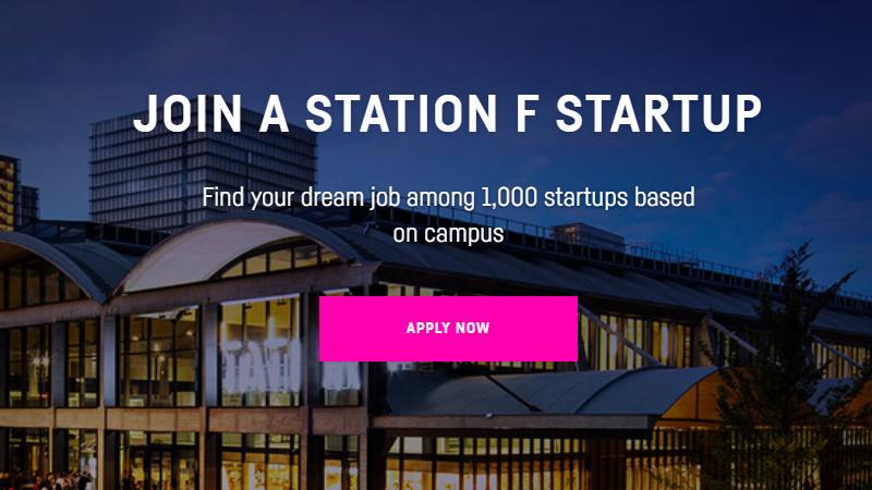 Station F lance son propre site d'offres d'emploi