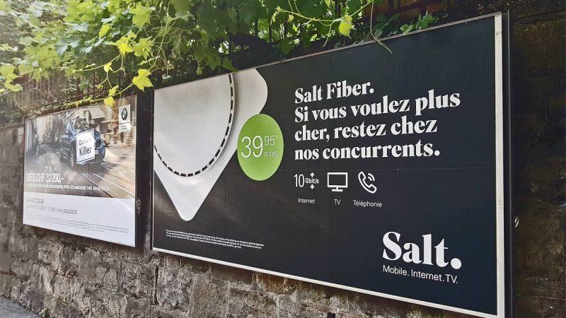 Salt : l'opérateur Suisse de Xavier Niel joue la carte de la provocation dans sa dernière campagne publicitaire