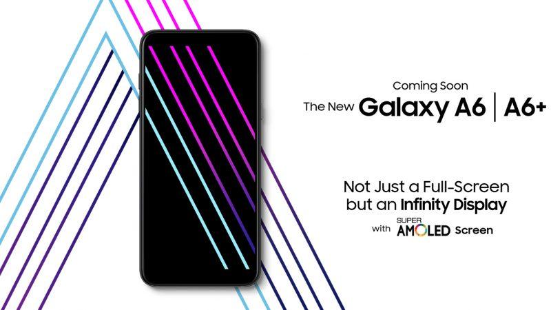 Samsung Galaxy A6 et A6+ : les visuels et les principales caractéristiques se dévoilent avant l'heure