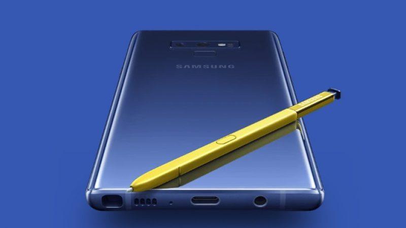 Samsung Galaxy Note 9 : la nouvelle phablette de la marque est enfin officialisée