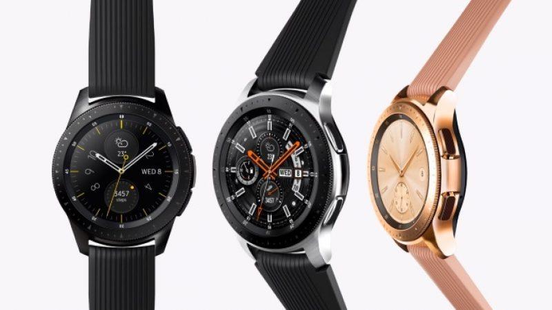 Galaxy Watch : Samsung a dévoilé sa nouvelle montre connectée