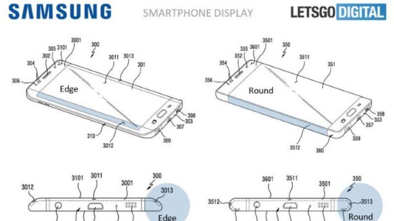 Samsung a déposé un brevet pour un nouveau type d'écran innovant