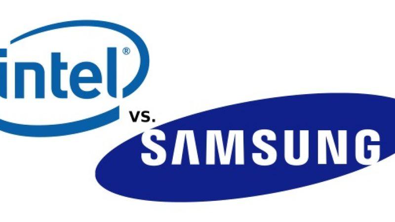 Samsung sur le point de détrôner Intel dans le secteur des puces
