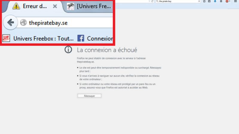 The Pirate Bay finalement bloqué par Free suite au jugement du TGI de Paris