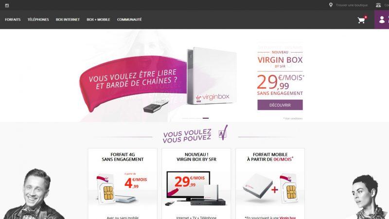 Nouveau slogan et nouvelles couleurs pour Virgin Mobile