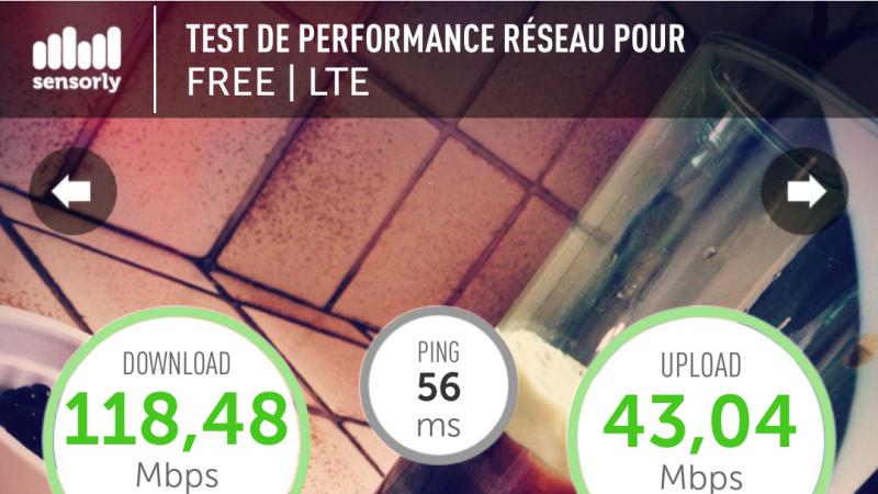 Record 4G Free Mobile Lille battu !