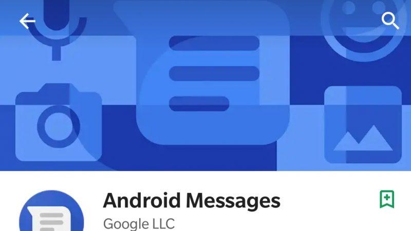 Android Messages : la fonction pour envoyer des SMS depuis un ordinateur se précise