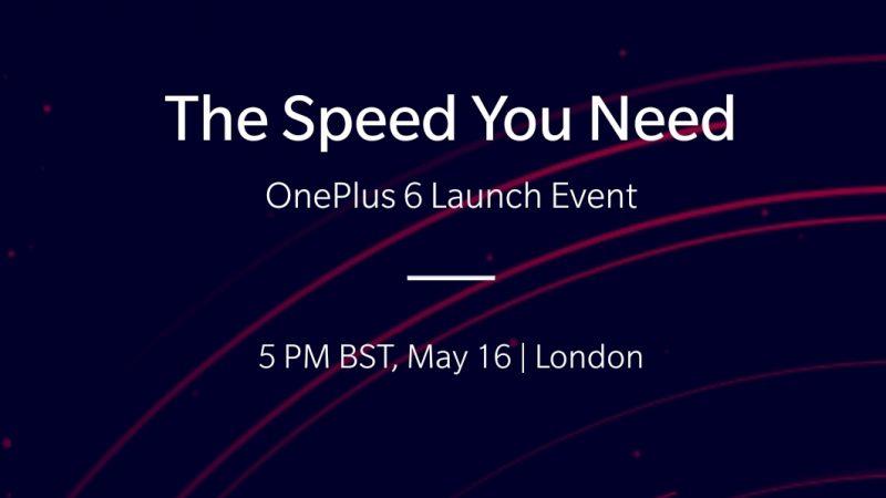 One Plus annonce le lancement du One Plus 6
