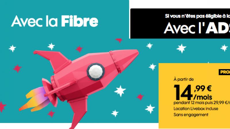 Sosh brade sa boîte internet fibre et ADSL jusqu'en janvier