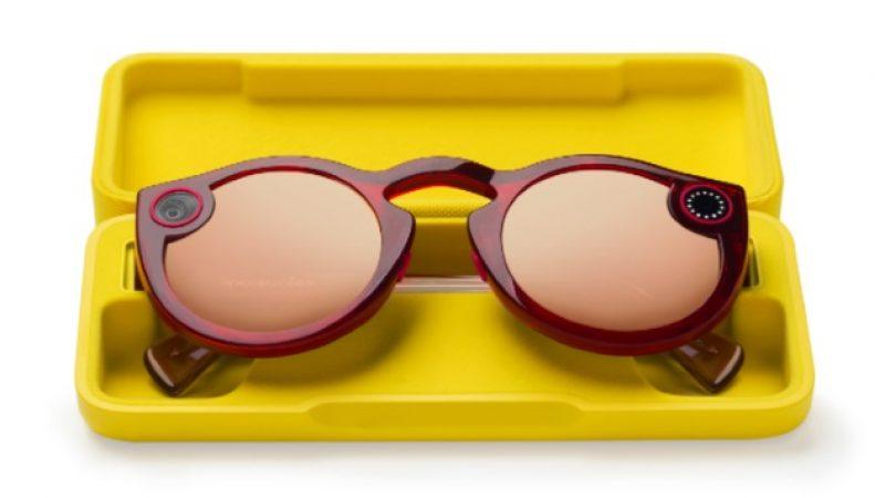 Snapchat : le réseau social lance la deuxième génération de ses lunettes