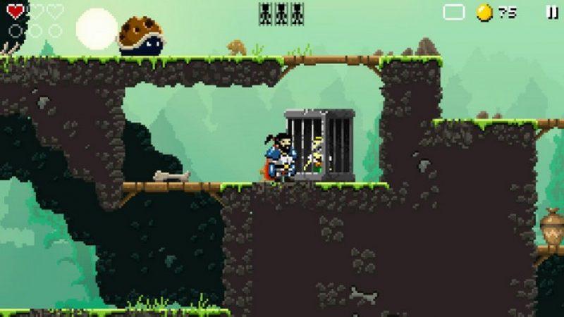 Test Sword of Xolan sur Freebox mini 4K : un jeu aux graphismes rétro vite addictif