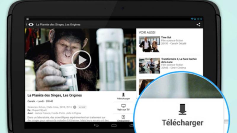 Canal+ lancera prochainement la fonction « télécharger » sur mobile, pour regarder les programmes hors connexion