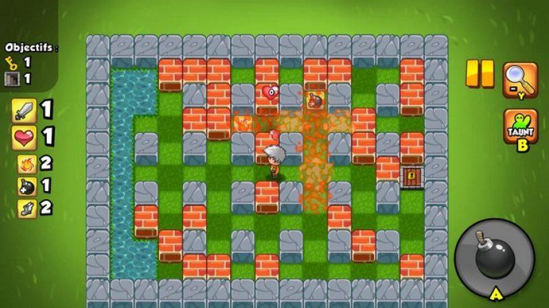 Test Bomber Friends sur Freebox mini 4K : un jeu d'arène addictif en solo ou en multi-joueur