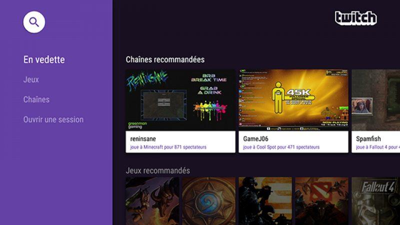 Twitch lance une version Android TV : regardez vos jeux vidéo préférés sur la Freebox Mini 4K